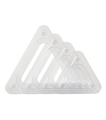 Fiskars Shapexpress2 4 pk Triangle Templates