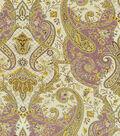 Waverly Print Fabric-Lyrical Legend/Plum