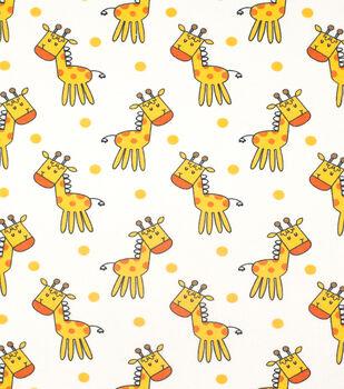 Super Snuggle Flannel Fabric-Happy Giraffes
