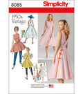 Simplicity Patterns US8085H5 Dresses-6-8-10-12-14