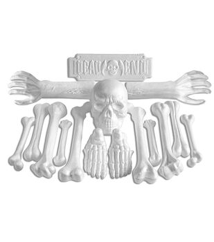 Maker's Halloween Craft Styrofoam Expanded Polystyrene Bone Yard