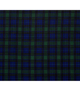Super Snuggle Flannel Fabric-Traditional Tartan Plaid