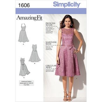 Simplicity Pattern 1606D5 4-6-8-10-1-Simplicity Misses Sp