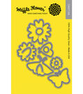Waffle Flower 11 pk Craft Dies-Pretty Wings