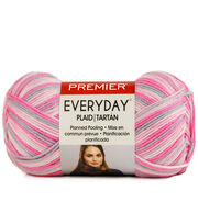 Premier Yarns Everyday Plaid Yarn, , hi-res