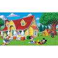 York Wallcoverings Pre Pasted Mural-Mickey & Friends