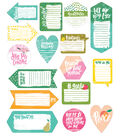 Illustrated Faith Fruit of the Spirit 16 pk Shapes Tip-ins Pads