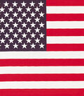 Have-A-Hank Bandanna 22\u0022X22\u0022-Tossed American Flag