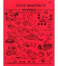 Aunt Martha Iron On Transfer Pattern Books Puppies
