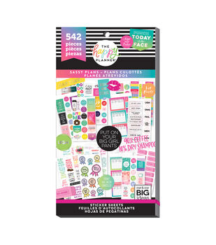 The Happy Planner 542 pk Stickers-Sassy Plans