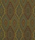 Home Decor 8\u0022x8\u0022 Fabric Swatch-Solid Fabric Robert Allen Bali Batik Jewel