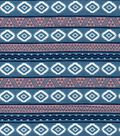 Snuggle Flannel Fabric -Tribal Aztec
