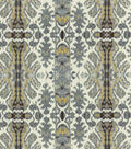 Tracy Porter Upholstery Fabric 54\u0022-Rubens Silver Cloud