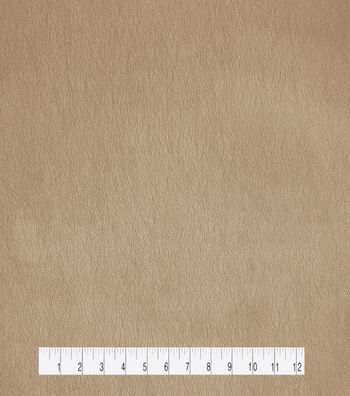 "Holiday Shine Pearlized Faux Leather Fabric 53""-Rose Gold"