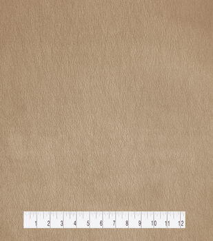 """Holiday Shine Pearlized Faux Leather Fabric 53""""-Rose Gold"""