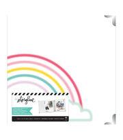"Heidi Swapp Storyline 3 D-Ring Album 8.5""X11""-Rainbow, , hi-res"