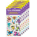 Bots & Bolts Sparkle Stickers-Large 16 Per Pack, 6 Packs
