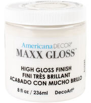 DecoArt Maxx Gloss Acrylic Paint 8oz , , hi-res