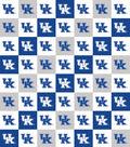 University of Kentucky Wildcats Cotton Fabric-Collegiate Checks
