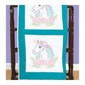 Jack Dempsey Needle Art 18\u0027\u0027x18\u0027\u0027 Stamped Quilt Blocks-Unicorn on White