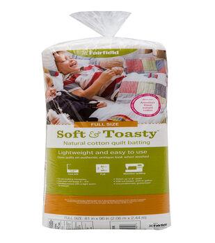 "Soft&Toasty Cotton Batting 81"" x 96"""
