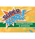 Edupress Super Score Game Multiplication/Division, Grades 3-4, Pack of 2