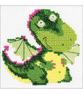 RIOLIS Combopu Cama 4\u0027\u0027x4\u0027\u0027 Counted Cross Stitch Kit-Little Dragon
