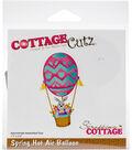 The Scrapping Cottage CottageCutz 1.7\u0027\u0027x3.5\u0027\u0027 Die-Spring Hot Air Balloon