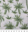 Anti-Pill Fleece Fabric 59\u0022-Palm Trees