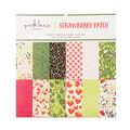 Park Lane Paperie 24 pk 12\u0027\u0027x12\u0027\u0027 Printed Cardstock-Strawberry Patch