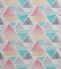 Modern Cotton Fabric -Dotted Triangles
