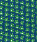 Snuggle Flannel Fabric -Winking Frogs