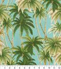 Tommy Bahama Outdoor Fabric 9\u0022x9\u0022 Swatch-Artisan Palms Seaspray