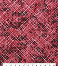 Keepsake Calico Cotton Fabric-Scratched Red