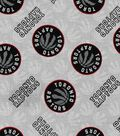 Toronto Raptors Cotton Fabric 44\u0022-Logo Toss