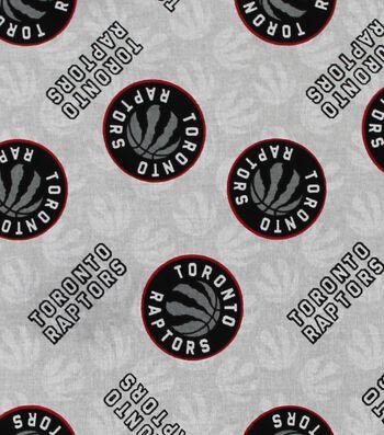 Toronto Raptors Cotton Fabric -Logo Toss