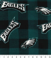 Philadelphia Eagles Fleece Fabric-Buffalo Plaid, , hi-res