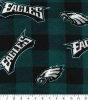 Philadelphia Eagles Fleece Fabric-Buffalo Plaid, , hi-res