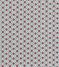 Quilter\u0027s Showcase Cotton Fabric 44\u0022-Medallion On Gray