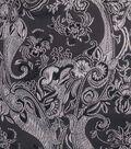 Cosplay by Yaya Han Brocade Fabric -Metallic Black