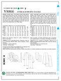 Mccall Pattern V8866 16-18-20-2-Vogue Pattern