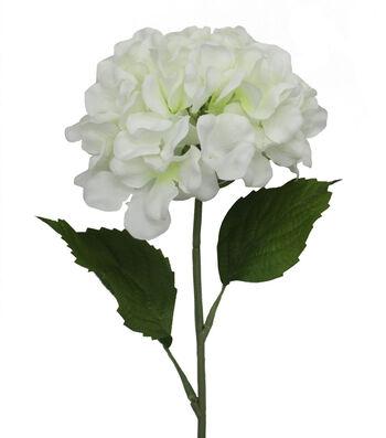 Fresh Picked Spring 26'' Hydrangea Stem-White