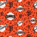 San Francisco Giants Fleece Fabric -Digital