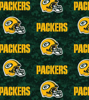 "Green Bay Packers Fleece Fabric 58""-Digital, , hi-res"