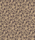 Quilter\u0027s Showcase Cotton Fabric-Delicate Floral on Tan