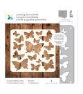 Momenta 4\u0027\u0027x4.6\u0027\u0027 Confetti Mat Die-cutting Template-Butterfly