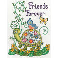 8X10 14Ct -Friends Forever-Trtl