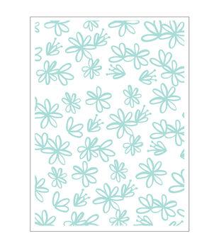 Park Lane A2 Embossing Folder-Sketch Floral