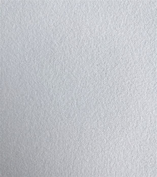 Knit Solids Stretch Crepe Fabric-White
