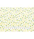 Novelty Cotton Fabric 43\u0027\u0027-Lemons on White